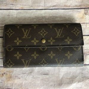 Louis Vuitton international tresor long wallet